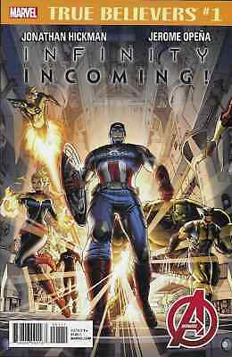True Believers Infinity Incoming 1 Reprinting Avengers 1 (2012) Nm