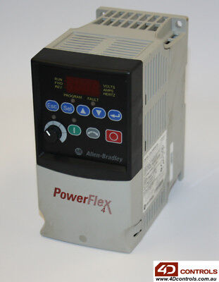 Allen Bradley 22A-D4P0N104 PowerFlex 4 AC Drive - New Surplus Open - Series A