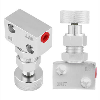 Aluminum Brake Bias Valve Screw Type Rally Proportion Adjustable Prop Adjuster