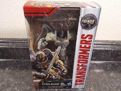 Transformers The Last Knight Steelbane Deluxe MISB Sealed New TLK