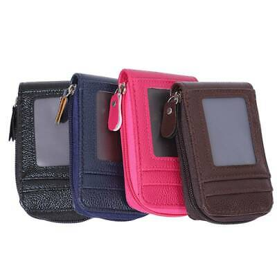 Mens/Womens Fashion Mini PU Leather Wallet ID Credit Cards Holder Purse JA