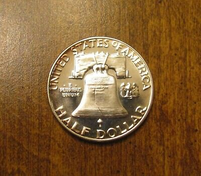 1955 -  Franklin Half Dollar - PROOF -  From Proof Silver Set