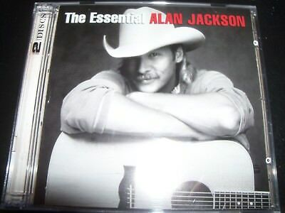 Alan Jackson The Essential Very Best of Greatest Hits (Australia) 2 CD – New