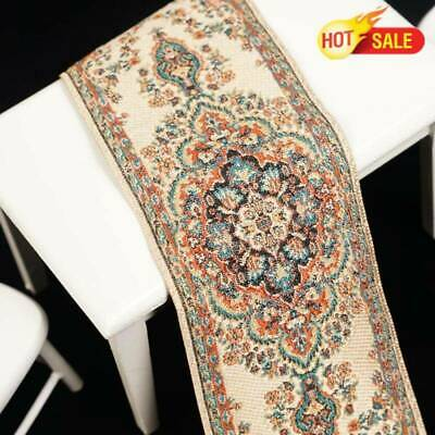 1/12 Scale Woven Rug Floor Carpet Coverings Dolls House Furniture Miniatures Toy