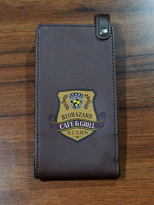 BIOHAZARD Restaurant STARS Cafe Grill Limited Leather Phone Case Resident Evil