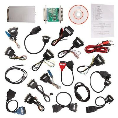 V10.05 ECU Programmer Full Version w/ 21 Item Adapter Support,Dash,IMMO,MCU/ECU