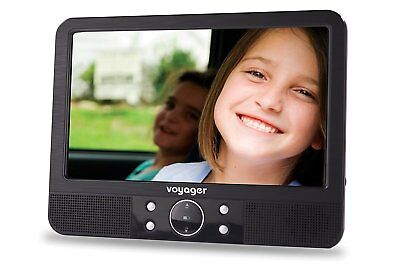 Voyager Tragbarer DVD-Player (22,8 cm (9 Zoll) LCD-Display) inkl Auto-Holmhalter