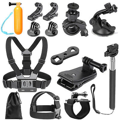 Neewer 14-en-1 Kit de Caméra d'Action Sports pour GoPro Hero 1 2 3 3+ 4 5 6