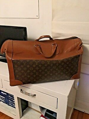 """Vintage Authentic Louis Vuitton """"Keep All"""" Style Luggage"""