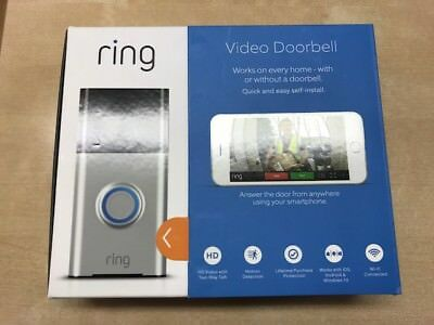 Ring Video Doorbell Motion Activated 720HD Video 2-Way Talk Security Camera