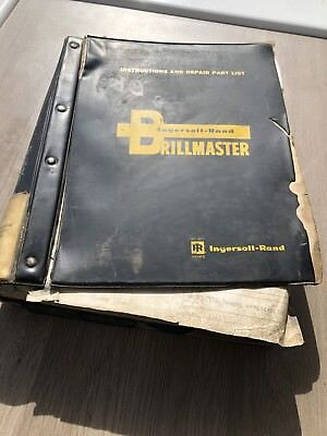 Ingersoll Drilling  Dm4A Rig Spare Parts & Instruction Manual Truck Mounted