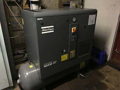 Atlas Copco GX5FF Receiver Mounted Rotary Screw Compressor With Dryer London