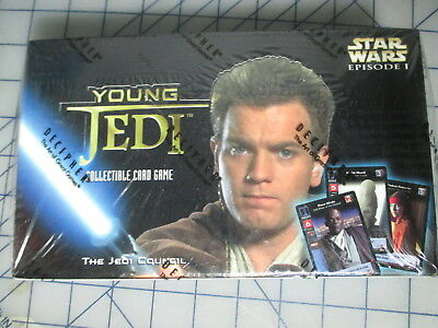 Decipher Star Wars Young Jedi The Jedi Council Sealed Booster Box TCG/CCG NEW