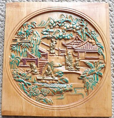 Wood Carving Wall Art 3d Wood Carving Carved Wooden Gift Carving Picture