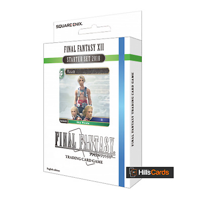 Final Fantasy XII 12 Starter Set 2018 - 50 Card TCG Starter Deck