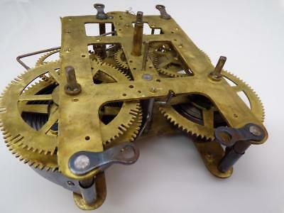 Vintage 89AD  Seth Thomas Brass Clock Movement Parts only D319b
