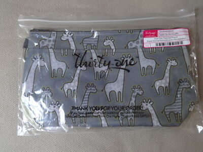 Thirty One Thirty-One Gifts 31 Cool Clip Thermal Pouch BRAND NEW Go Go Giraffe