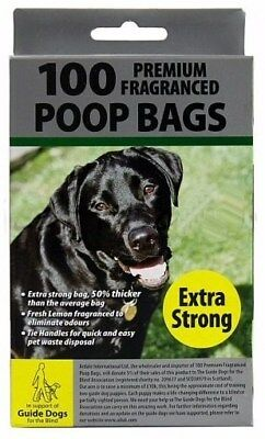 Dog Doggy Poop Poo Bags Scented EXTRA STRONG Pet Waste Bags