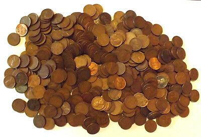 500+ Wheat Pennies Unsearched Free Shipping