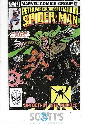 Peter Parker Spectacular Spiderman   #73   VF+