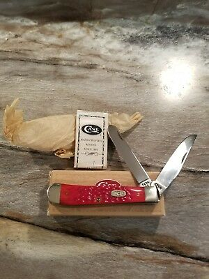 Case xx 1999 Red Trapper knife 6254
