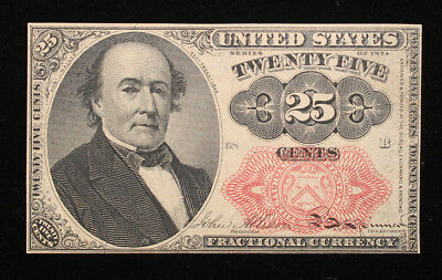 25 Cent 5th Issue Fractional note