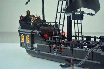 Black Pearl Ship 4184 - Pirates of The Caribbean Jack Schiff Building Block 804p