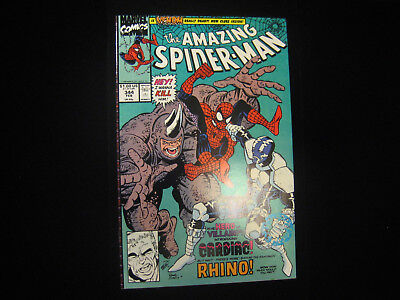 The Amazing Spider-Man #344 (Feb 1991, Marvel) HIGH GRADE