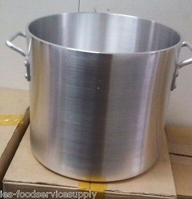 Ultra Heavy Duty 6 Mm Thick 60 Quart Stock Pot Aluminum Commercial Cooker Boiler