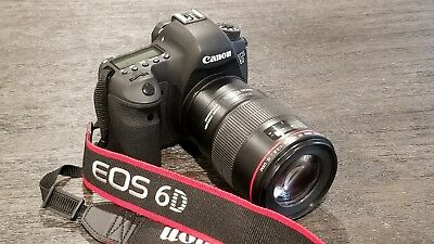 Canon EOS 6D BARELY USED, (BODY ONLY) with box and accessories