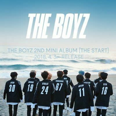 THE BOYZ [THE START] 2nd Mini Album RANDOM VER CD+P.Book+3p Card+Sticker SEALED