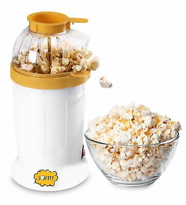 Hot Air Pop Popcorn Machine Popper Maker Small Tabletop Home Party Snack 16 Cups