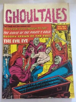 1970s GHOUL TALES VOL 1 #  no.2 Old Collectable Horror Comic Book