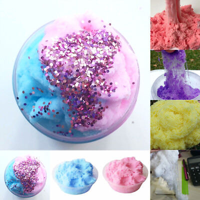 Fairy Floss Cloud Slime 50g Reduced Pressure Mud Stress Relief Kid Clay Toy Gift