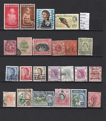 Lot Stamps British Colonies Used (L25119)