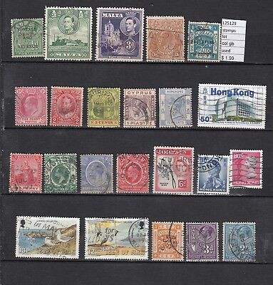 Lot Stamps British Colonies Used (L25129)