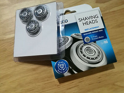 New shaver Razor Replacement Blades Heads for Norelco SH90 S7000 S9000 RQ12+