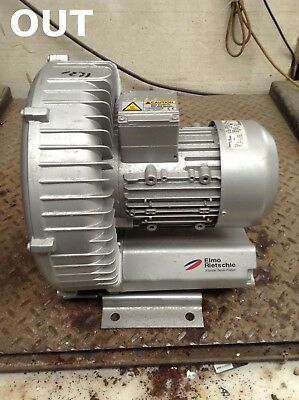 Gardner Denver G 200 2BH1500-7AH11 Regenerative Side Channel Blower 1.3/1.5kW