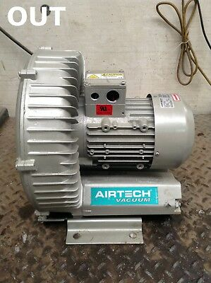 Airtech 3BA15007AT16 Regenerative Side Channel Blower 1.3/2.05kW 2800/3400min