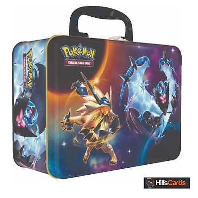 Pokemon TCG Spring 2018 Collectors Chest (Necrozma) Booster Packs + Promo Cards