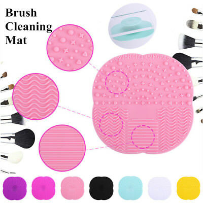 INSTOCK Cosmetic Brushes Cleaning Pads For BH IT Kylie NYX MAC Catrice