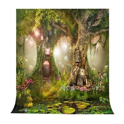Photo Background 5X7FT Fairy Tale Photography Backdrop Studio Props For Chi V7G8