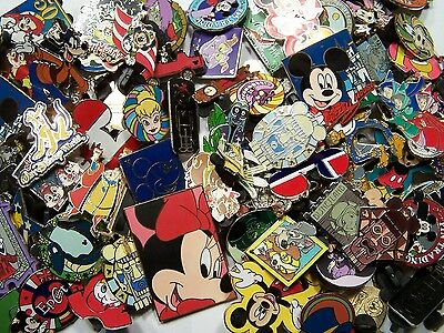 DISNEY PINS Lot of 500 FASTEST FREE SHIPPER to USA Including Parks! +5 FREE pins