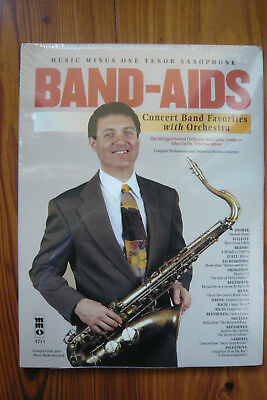 Band Aids for Tenor Saxophone mit Play-Along  CD - MMO 4213