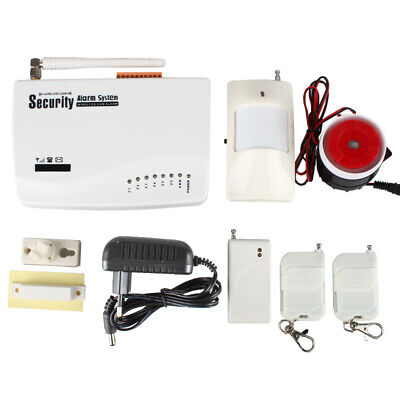 Kit Antifurto Allarme Casa Combinatore Gsm Wireless Senza Fili Incorporato Wifi
