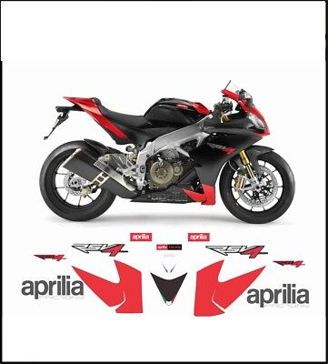 kit adesivi stickers compatibili RSV4 2009 FACTORY