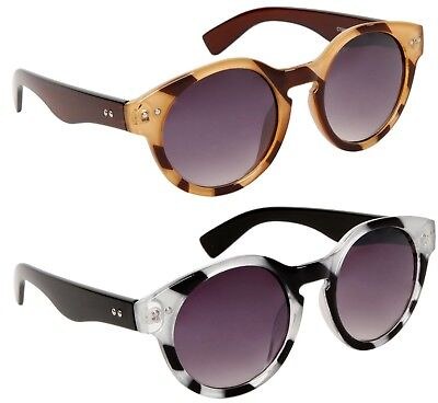Designer Large Cat Eye Sunglasses Round Retro Vintage Big UV400 Ladies Women