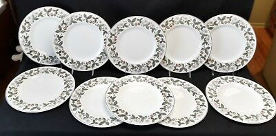 Wedgwood Strawberry Hill Set of 10 Dinner Plates