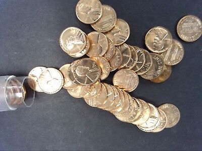 1960 D Small Date Bu Lincoln Cent Roll Uncirculated Copper Penny Roll