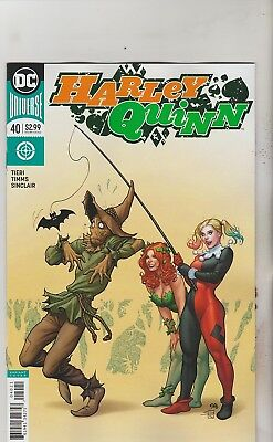 Dc Comics Harley Quinn #40 May 2018 Variant 1St Print Nm